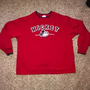 Vintage Disney land crewneck